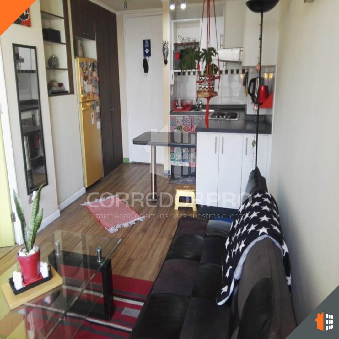 Estación Central, Región Metropolitana, 1 Dormitorio Habitaciones, ,1 BañoBathrooms,Departamento,Vendida,1248