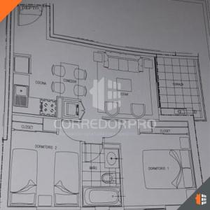 Quinta Normal, Región Metropolitana, 2 Habitaciones Habitaciones, ,1 BañoBathrooms,Departamento,En Venta,1411