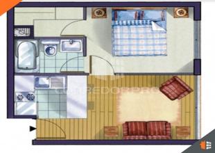 Santiago, Región Metropolitana, 1 Dormitorio Habitaciones, ,1 BañoBathrooms,Departamento,En Venta,1430