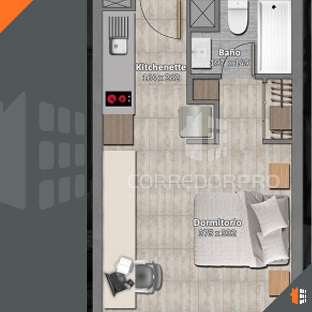 Ñuñoa, Región Metropolitana, 1 Dormitorio Habitaciones, ,1 BañoBathrooms,Departamento,Arrendada,1515