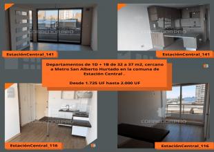 Estación Central, Región Metropolitana, 1 Dormitorio Habitaciones, ,1 BañoBathrooms,Departamento,En Venta,1548