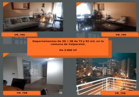 Valparaíso, Región de Valparaíso, 3 Habitaciones Habitaciones, ,2 BathroomsBathrooms,Departamento,En Venta,1566