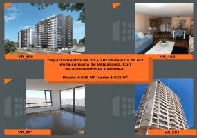 Valparaíso, Región de Valparaíso, 3 Habitaciones Habitaciones, ,2 BathroomsBathrooms,Departamento,En Venta,1569